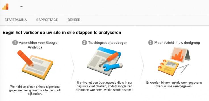 Google Analytics configureren in 3 stappen